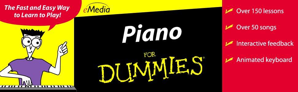 emedia piano for dummies v2. Black Bedroom Furniture Sets. Home Design Ideas