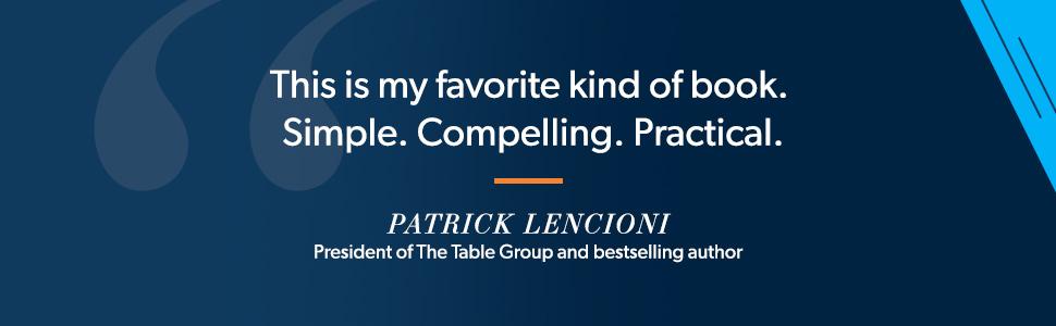 patrick lencioni table group quote