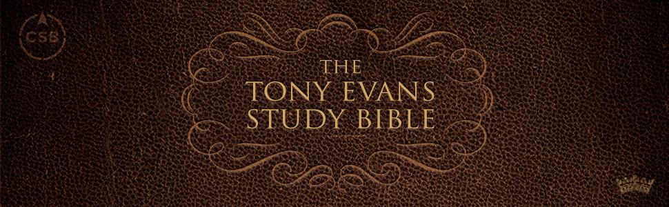 Tony Evans Study Bible, Tony Evans Bible, Application Bible,Kingdom Man Bible, Christian Standard