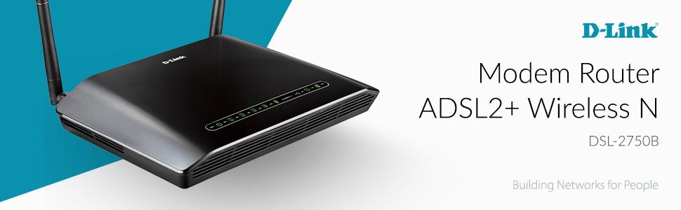 Modem Router ADSL2+ Wireless N