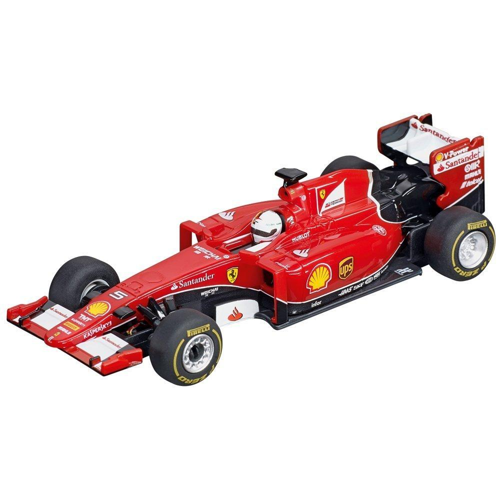 carrera go red champions 1 43 scale electric powered formula 1 slot car race. Black Bedroom Furniture Sets. Home Design Ideas