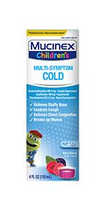 Mucinex Children's Multi-Symptom Cold Liquid
