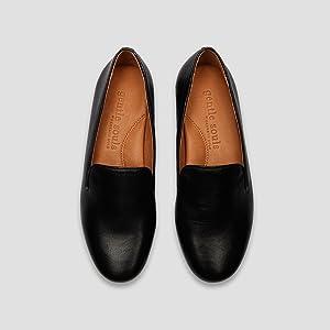 8f8c5569722 Gentle Souls Women s Eugene Leather Slip-on Loafer Flat