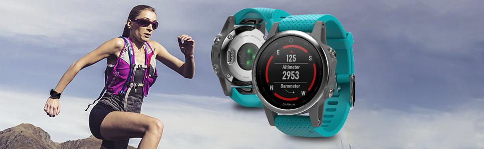 fenix 5S, montre GPS multisports, sport, aventure, élégance