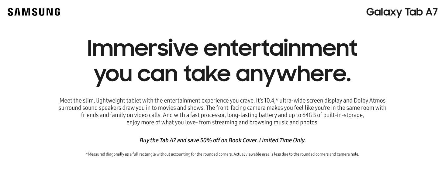 Samsung Galaxy Tab S7 - Black