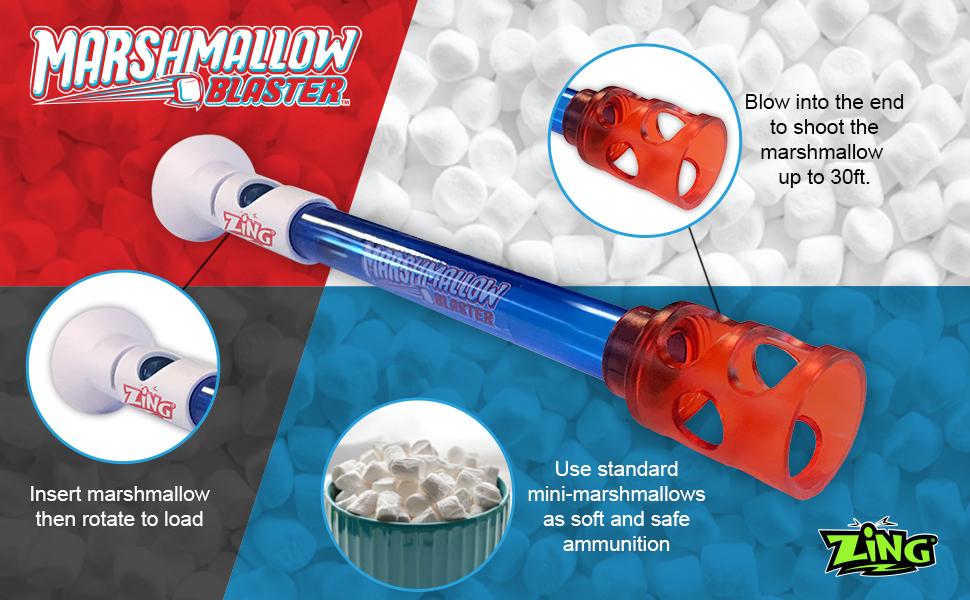 Mini Blaster Marshmallow Fun Company Original Camo Straight Shooter