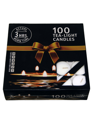 3 Hours Burning 10 Grams Tea-light Candle