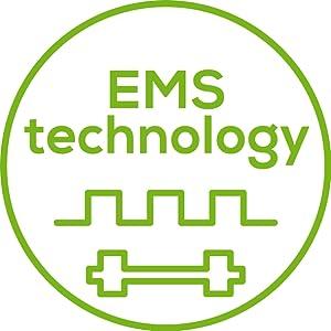 Beurer EM 32 Electroestimulador EMS Cinturón Abdominal,5 programas ...