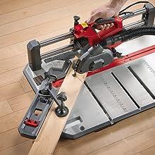 Miter cut, flooring saw