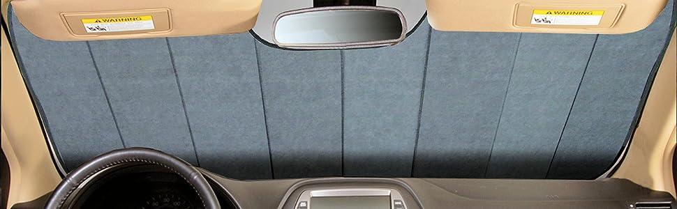 Intro-Tech Ultimate Reflector Custom Folding Auto Shade, Silver