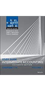 Amazon intermediate accounting 16th edition ebook donald e study guide study guide student practice set fandeluxe Image collections