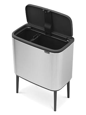 bo touch bin; trash can brabantia trash can; kitchen trash can; recycling trash can; kitchen bin