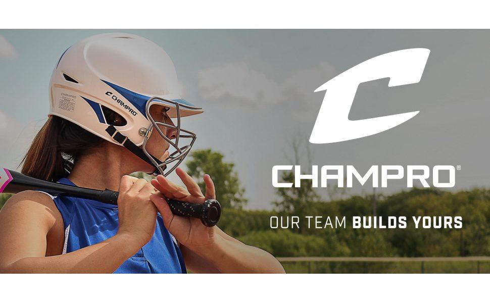 CHAMPRO Baseball-and-Softball-Batting-Helmets HX Batting Helmet