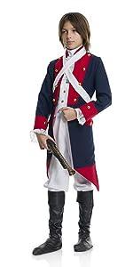 Boy's Revolutionary War Soldier Costume