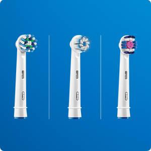 Zusammen mit Zahnärzten entwickelte Aufsteckbürsten