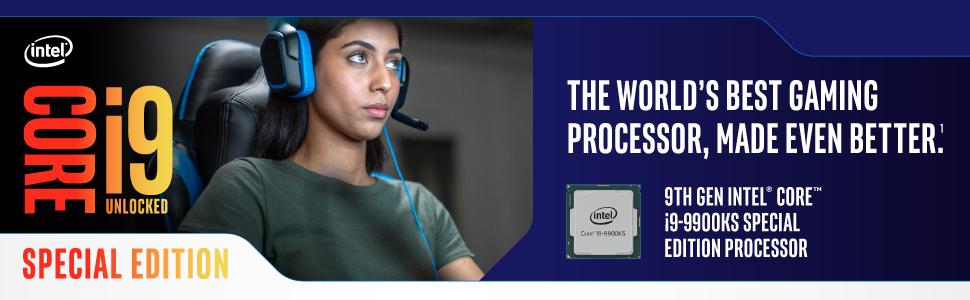 9th Gen Intel Core i9-9900KS Special Edition processor