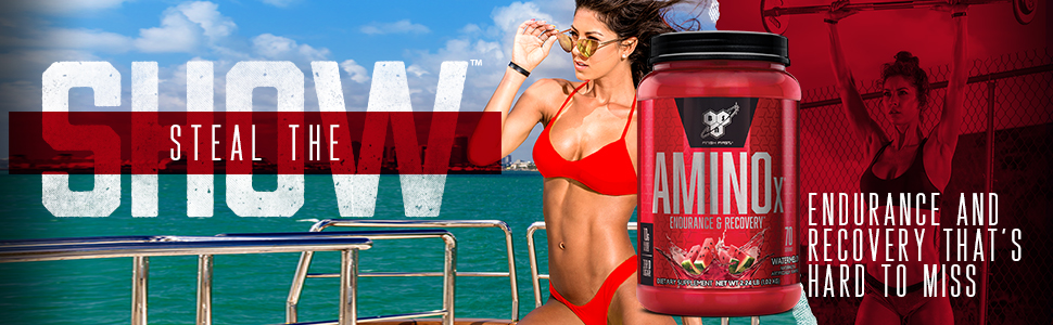 ENDURANCE & RECOVERY THAT'S HARD TO MISS - AMINO X