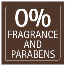 no fragrance no parabens no chemicals