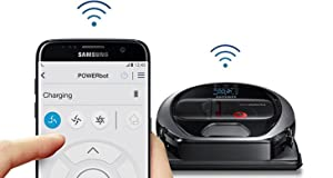 Samsung POWERbot R7040 Robot Vacuum wi-fi connectivity