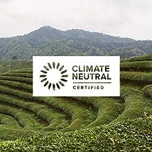 climate neutral certified organic fair trade teas