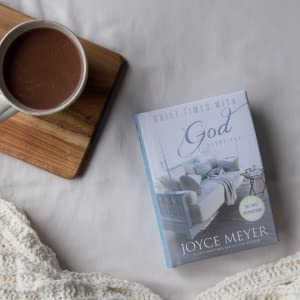 Joyce Meyer, quiet times with God, best-selling author, new book, devotional, yearly