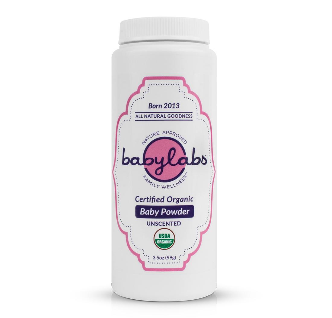 d76b22f273825 BABYLABS USDA Certified Organic Baby Powder