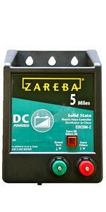 Amazon Com Zareba Esp5m Z 5 Mile Solar Low Impedance