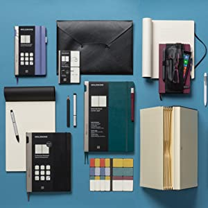 Moleskine Pro Notebook Collection to increase productivity & efficiency throughout your working day