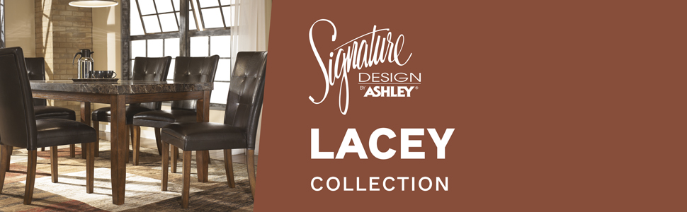 d382 lacey collection signature design by ashley furniture chair chairs dining room table