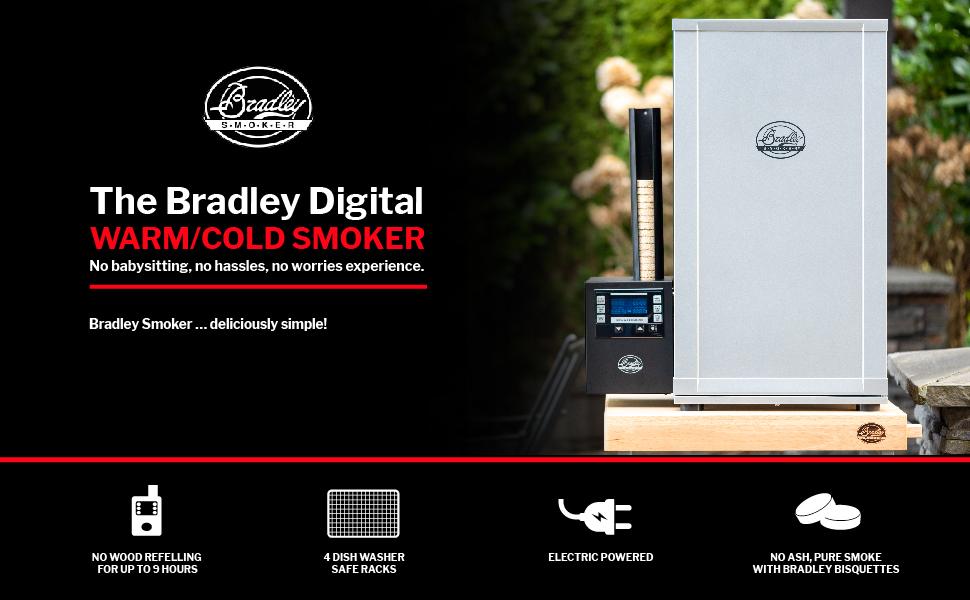 Bradley Smoker Digital 4-Rack Electric Smoker