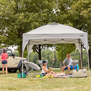 CORE 10' x 10' Instant Shelter Pop-Up Canopy Tent with Wheeled Carry Bag 32