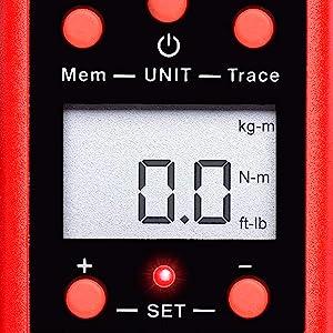 3//8in 1//2in 1//4in 3547 Neilsen Numérique Torque Adaptateur Affichage électronique 1//2in