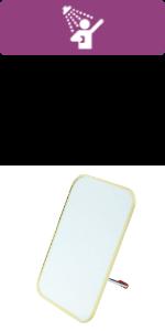 3-Way Camp Mirror