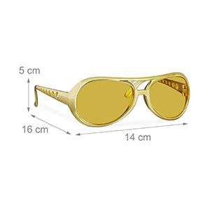 gold glasses shades