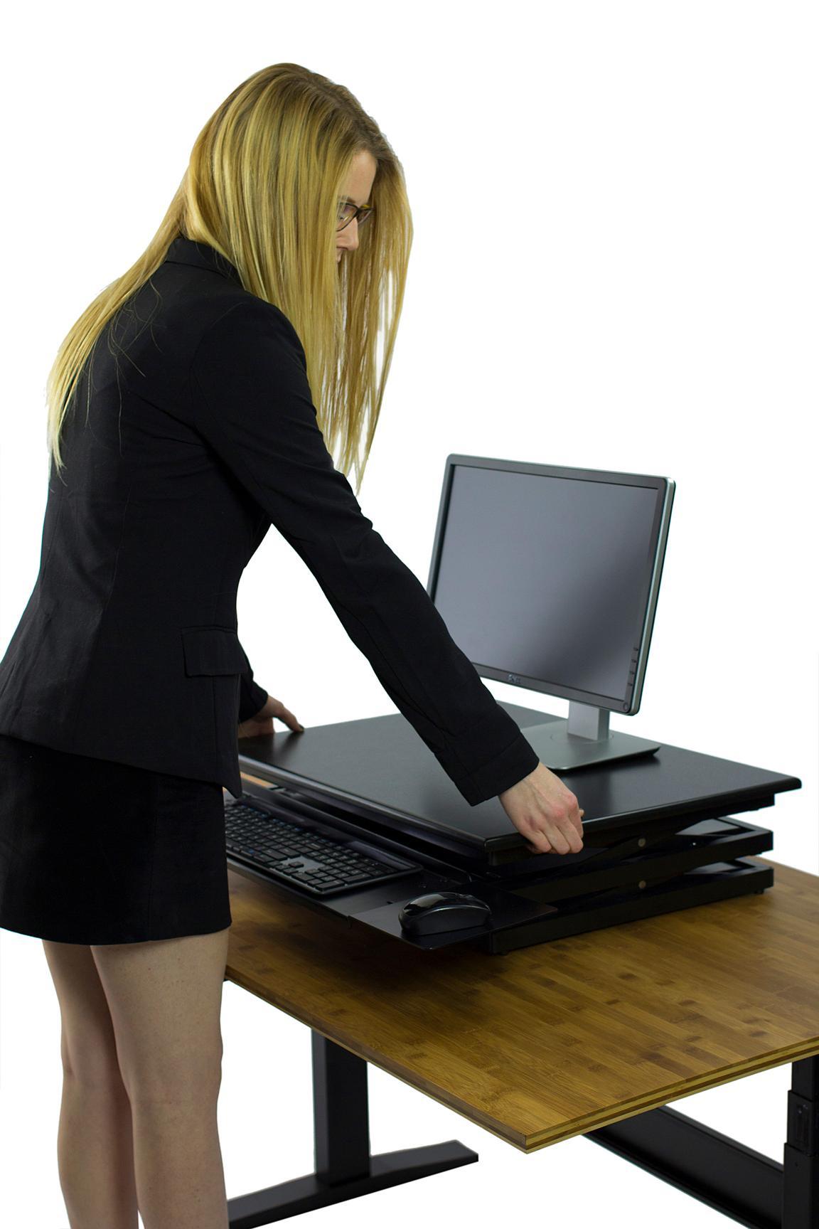 Cheapest Keyboard Workstation : changedesk tall ergonomic laptop desktop standing desk conversion height ~ Hamham.info Haus und Dekorationen
