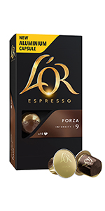 forza;lor;coffee;coffee capsules