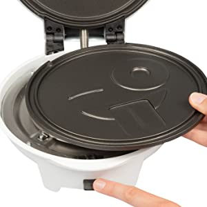 Waffle Waffler Iron Maker Pan Griddle Pancake Electric Kitchen Cooking