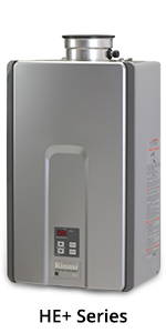 Rinnai RL series tankless water heater product image