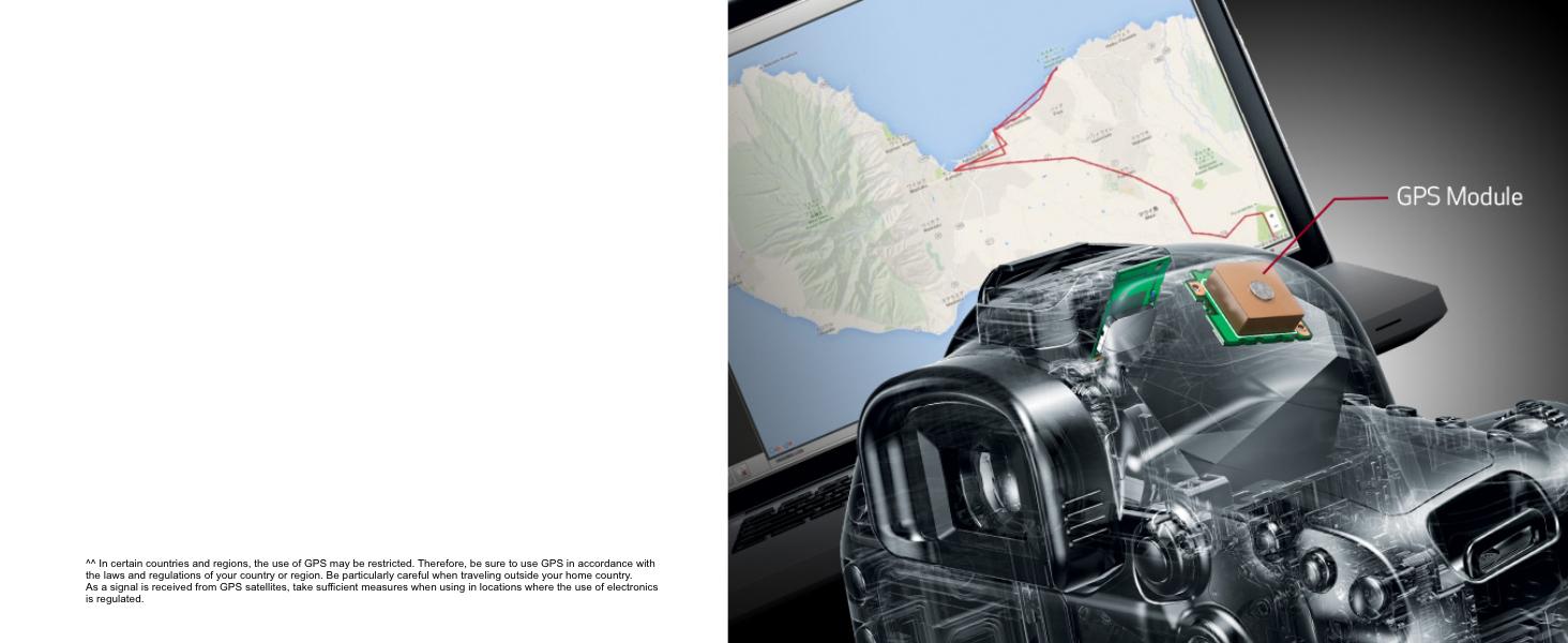 Built-in GPS