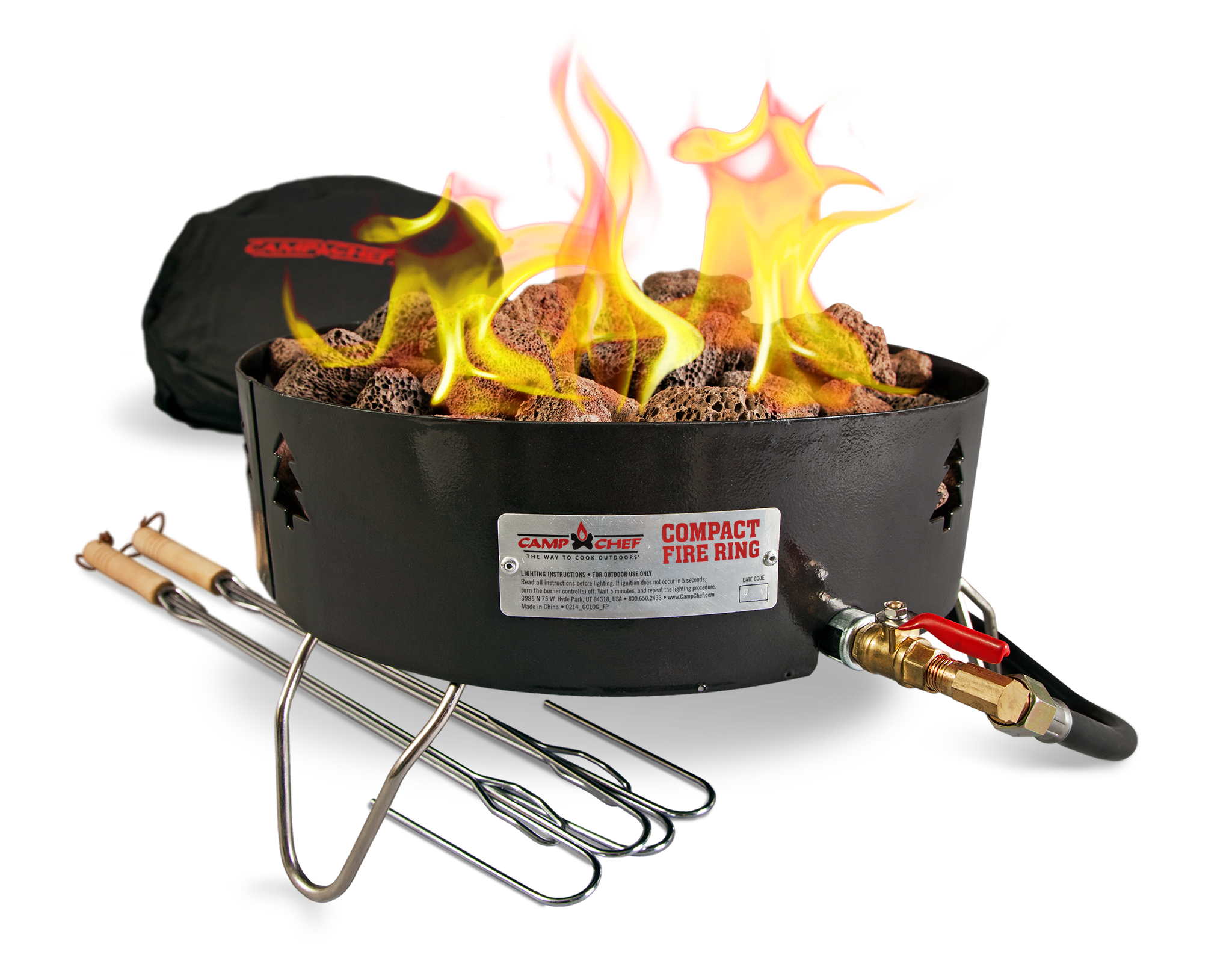 Amazon camp chef propane outdoor portable campfire camping camp chef propane compact fire ring publicscrutiny Gallery
