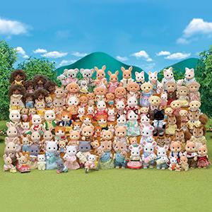 calico critters calico critters family calico critter family hopscotch rabbit family