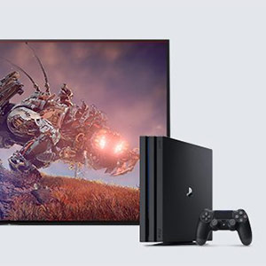 Picture of X7000F and PlayStation