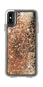 Amazon Com Case Mate Iphone Xs Max Case Waterfall Iphone 6 5 Gold