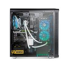 Nox Hummer TGX Rainbow - NXHUMMERTGX - Caja PC, ATX, RGB, Color ...