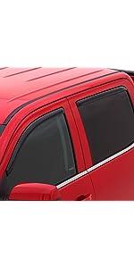 WINDOW VENT VISORS SILVERADO 1500 CREW CAB 2004-2007 In Channel 194355 For
