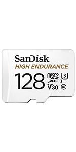 SanDisk High Endurance MicroSD Card