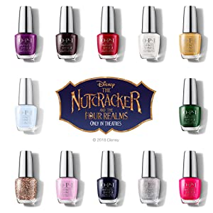 OPI Nutcracker Collection Nail Polish Nail Lacquer Infinite Shine Holiday Gifting Gift Sets Disney