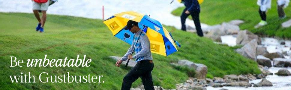golf umbrella, GustBuster