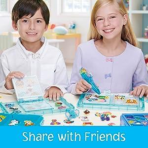 Aquabeads, Disney Princess, Water Bead Craft for Kids, Beads stick with water, craft, bead