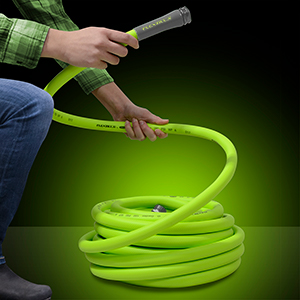 flexzilla garden hose coils easily